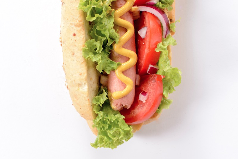 Pic of hot dog - Wholesale hot dog suppliers UK The Sausage Man