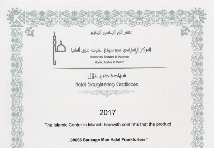 wholesale hot dog UK suppliers halal certificate