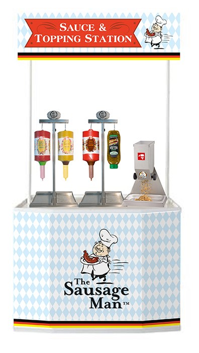 Hot Dog Franchise UK Equipment Sauce Station
