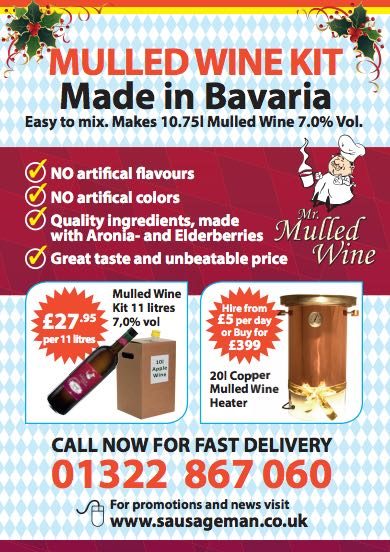 Wholesale Mulled Wine Kit 2017