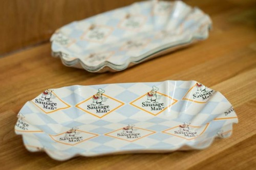 Oval Paper Trays