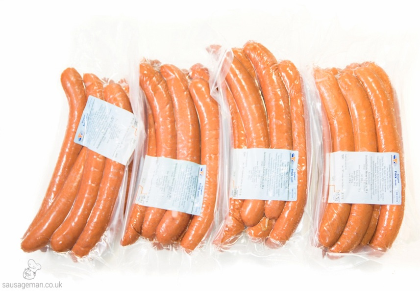 Beef Frankfurters UK Wholesale