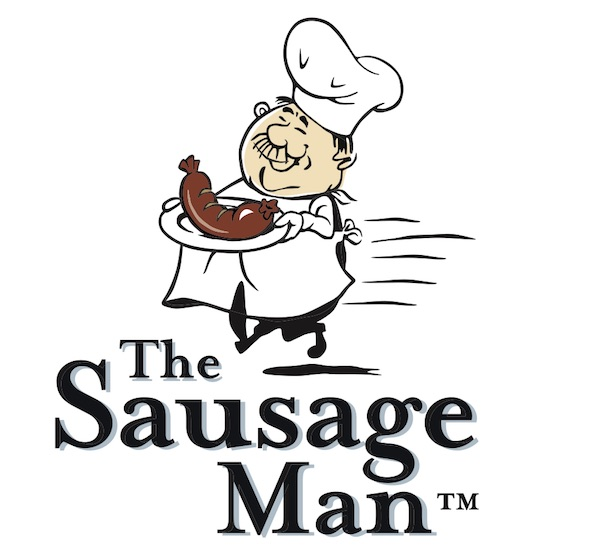The Sausage Man logo from Vegan Hot Dogs Wholesale Interview Post
