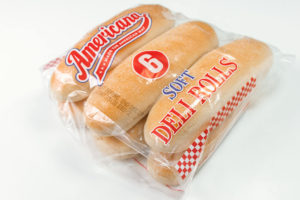 6 jumbo classic hot dog rolls in a packet