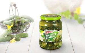 A Jar of Gherkins from Leading Brand Hainich