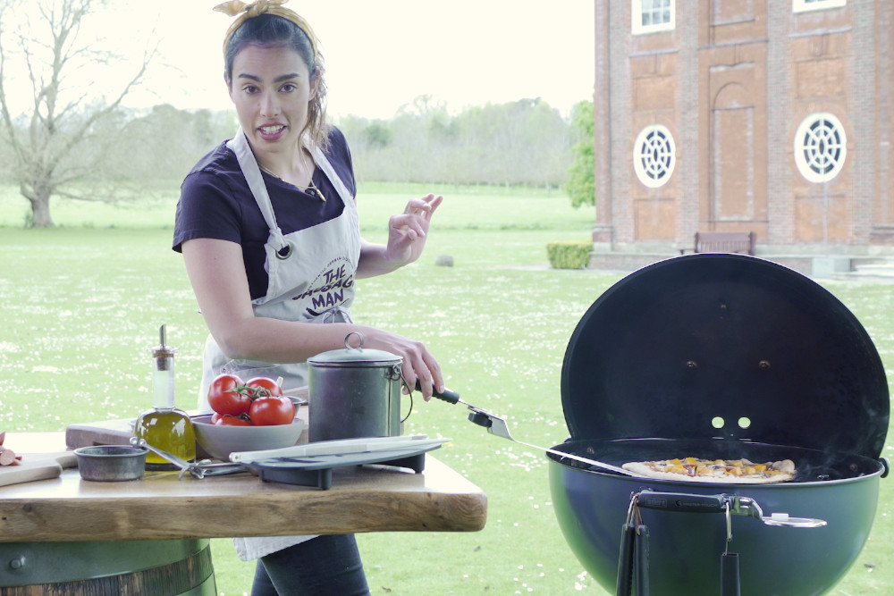 BBQ Summer Sessions – Episode 1: Spicy Sausage & Butternut Squash Pizza