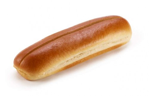 Brioche Hot Dog Roll  White